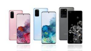 Diferencias entre Samsung Galaxy S20, S20 + y S20 Ultra