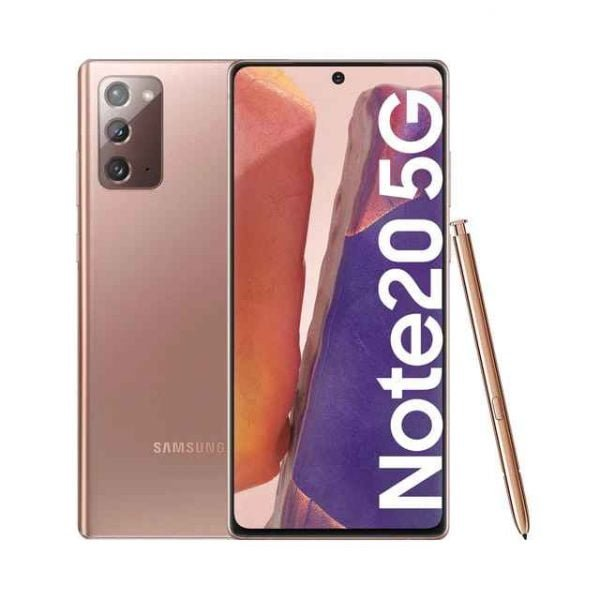 Samsung Galaxy Note20 5G, 8 GB + 256 GB Mystic Bronze móvil libre