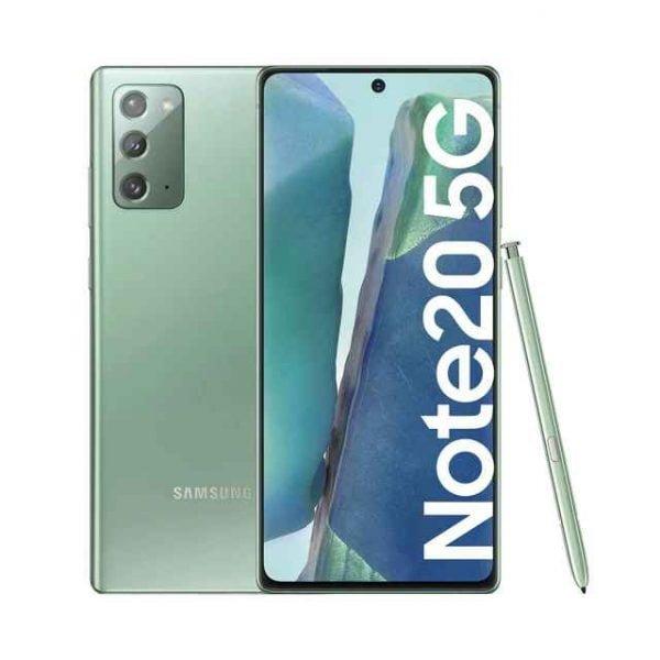 Samsung Galaxy Note20 5G 8 GB 256 GB Mystic Green movil libre 2