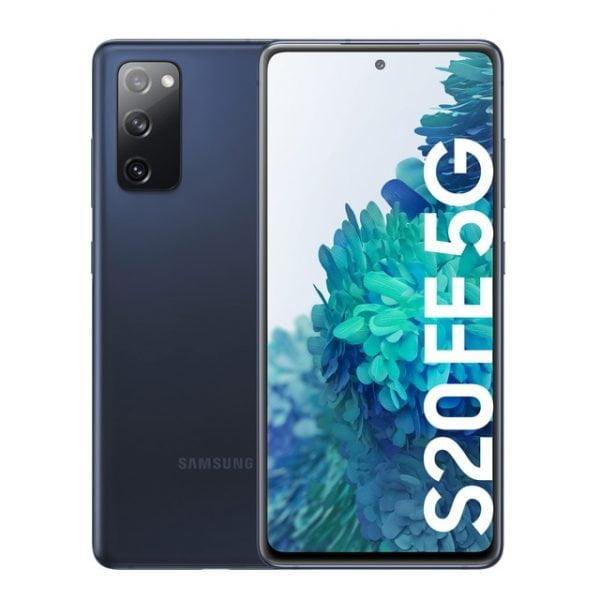 Samsung Galaxy S20 FE 5G 8 GB + 256 GB azul marino móvil libre